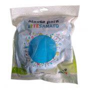 Massa para Artesanato Lisa Azul Escuro 250g Leonora