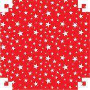 Papel Color Set Fantasia 48 x 66cm Estrela Vermelho VMP