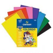 Papel Colorido Criativo A4 80g 32 Folhas Canson