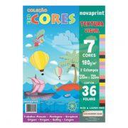 Papel Eco Cores Textura Visual 36 Folhas Nova Print