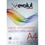 Papel Fotográfico A4 Adesivo Brilhante 130g - 20 folhas