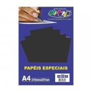 Papel Plus A4 120g Preto 20 folhas Off Paper