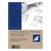Papel Vegetal A4 90-95g 100 folhas Mares