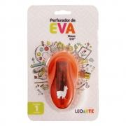 Perfurador de EVA 16mm Lhama Laranja Leoarte
