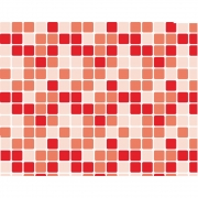Plástico Adesivo 45cm x 10m Pastilha Vermelha Leotack