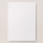 Refil Branco Liso A5 90g 50 Folhas Caderno Inteligente