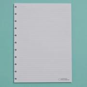 Refil Branco Pautado A5 90g 50 Folhas Caderno Inteligente