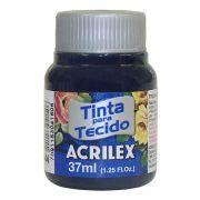 Tinta para Tecido Azul Marinho 37ml Acrilex