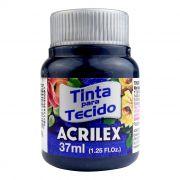 Tinta para Tecido Azul Petróleo 37ml Acrilex