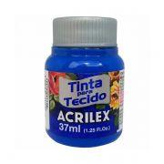 Tinta para Tecido Azul Turquesa 37ml Acrilex