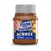 Tinta para Tecido Chocolate 37ml Acrilex