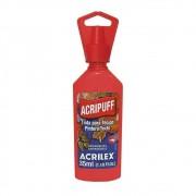 Tinta para Tecido Expansível Acripuff Vermelho Vivo 35ml Acrilex
