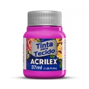 Tinta para Tecido Magenta 37ml Acrilex