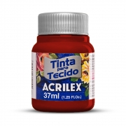 Tinta para Tecido Púrpura 37ml Acrilex