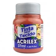 Tinta para Tecido Rosa Antigo 37ml Acrilex