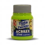 Tinta para Tecido Verde Maçã 37ml Acrilex