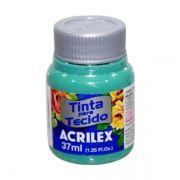 Tinta para Tecido Verde Mar 37ml Acrilex