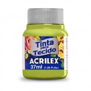 Tinta para Tecido Verde Pistache 37ml Acrilex