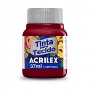 Tinta para Tecido Vinho 37ml Acrilex