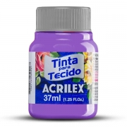 Tinta para Tecido Violeta Cobalto 37ml Acrilex