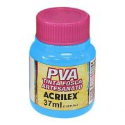 Tinta PVA para Artesanato Azul Celeste 37ml Acrilex