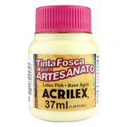 Tinta PVA para Artesanato Marfim 37ml Acrilex