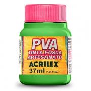 Tinta PVA para Artesanato Verde Folha 37ml Acrilex