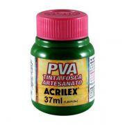 Tinta PVA para Artesanato Verde Musgo 37ml Acrilex