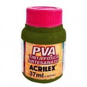 Tinta PVA para Artesanato Verde Oliva 37ml Acrilex