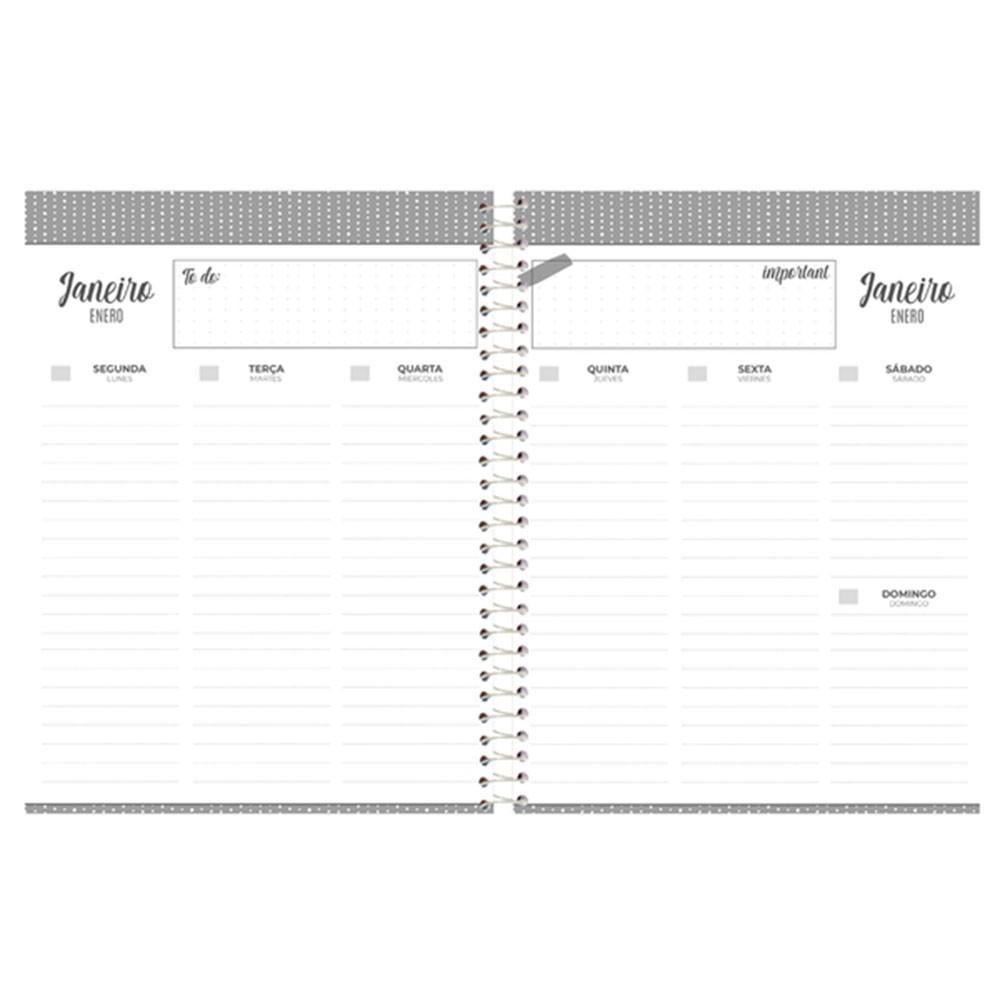 Agenda Espiral Planner Urban 2021 2 Foroni  - INK House