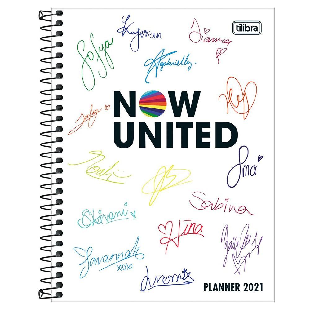 Agenda Planner Espiral Now United 2021 1 Tilibra  - INK House