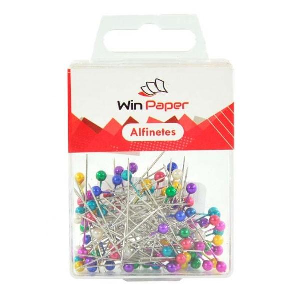 Alfinete para Costura Colorido 100 Unidades Win Paper