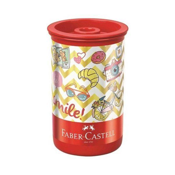 Apontador com Depósito Let's Go Faber Castell - 2