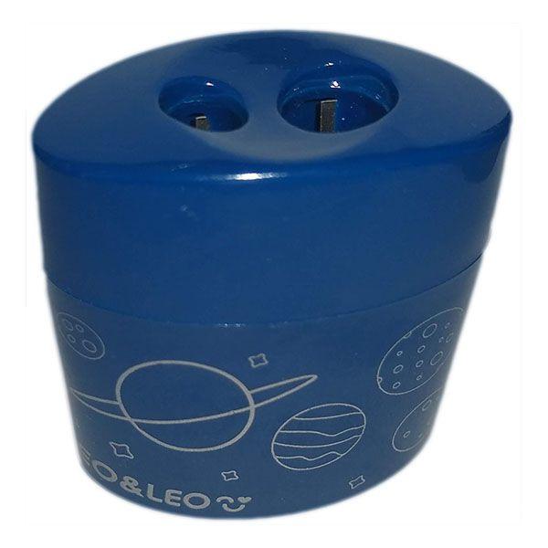 Apontador Duplo Oval com Depósito Astronauta Leo e Leo  - INK House