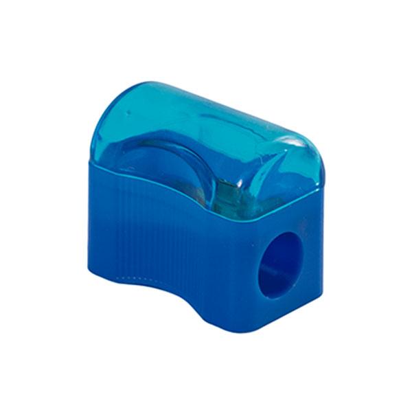 Apontador Mini com Depósito Azul Leo e Leo