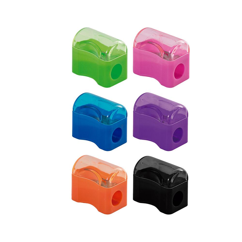 Apontador Mini com Depósito Caixa com 24 Unidades Leo e Leo