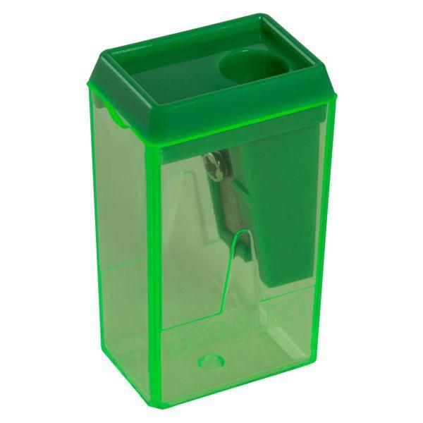 Apontador Bloco 4cm com Depósito Verde Leo e Leo  - INK House