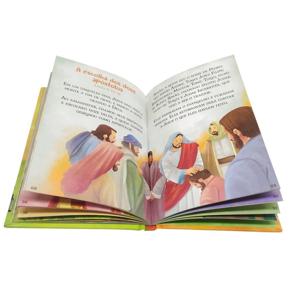 Bíblia Infantil Letras Grandes CD Almofadada SBN Editora  - INK House