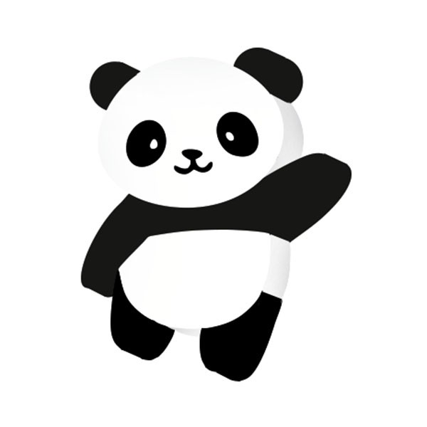 Borracha Panda Pet Leo e Leo  - INK House