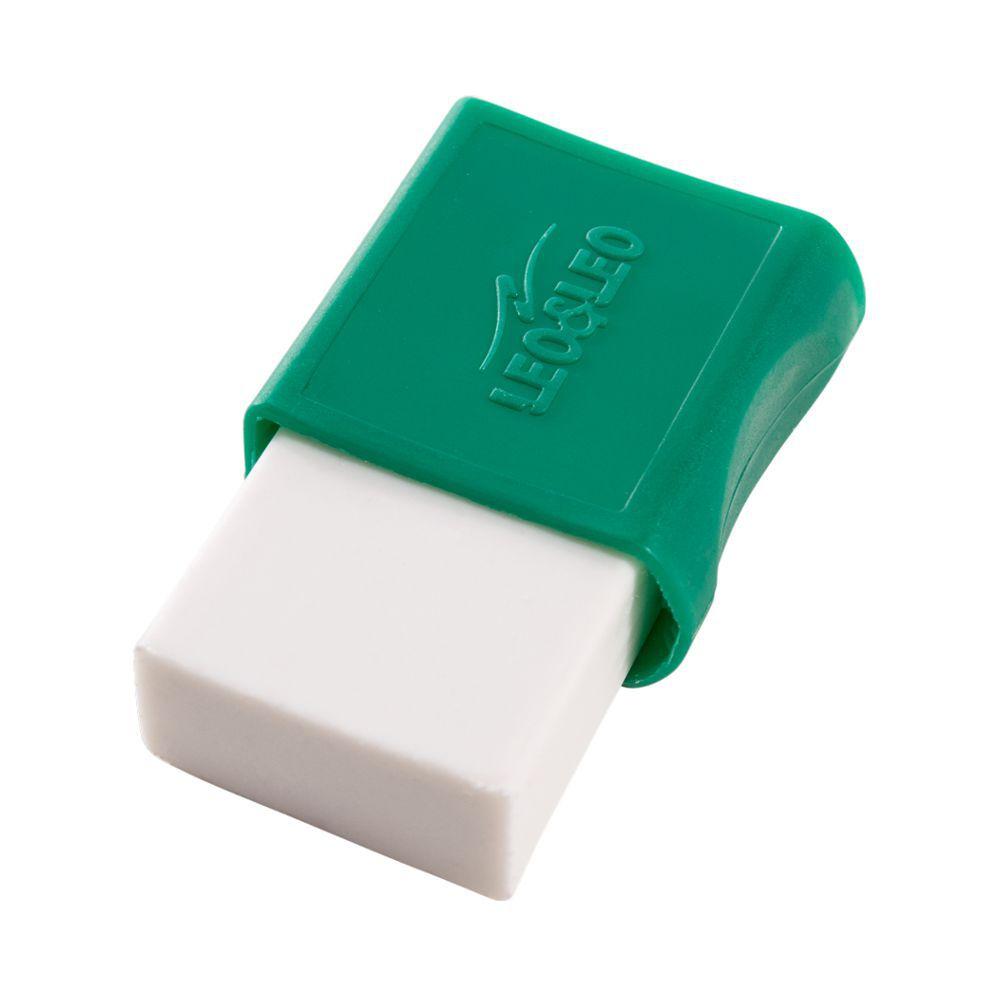 Borracha Plástica Branca com Capa Leo e Leo - Caixa c/ 24 unidades