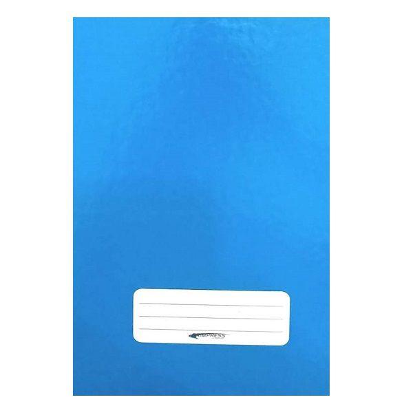Caderno Brochura 1/4 Capa Dura 96 Folhas Azul Brimpress