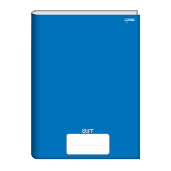 Caderno Brochurão Capa Dura 96 Folhas Azul Stiff Jandaia