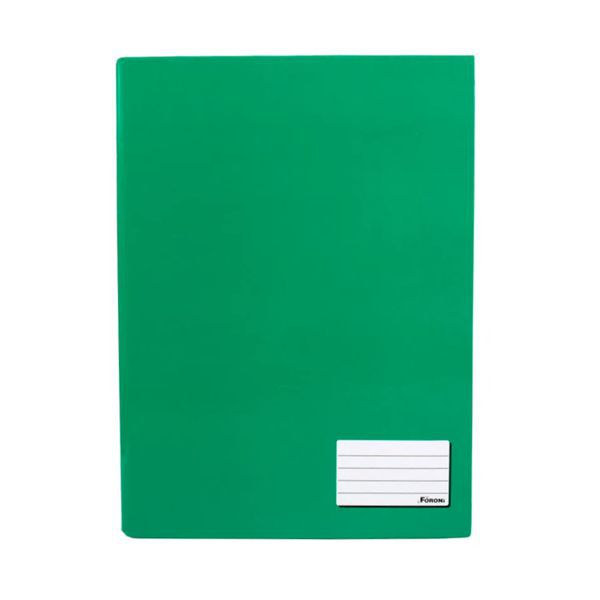 Caderno Brochurão Capa Dura 96 Folhas Foroni Verde  - INK House