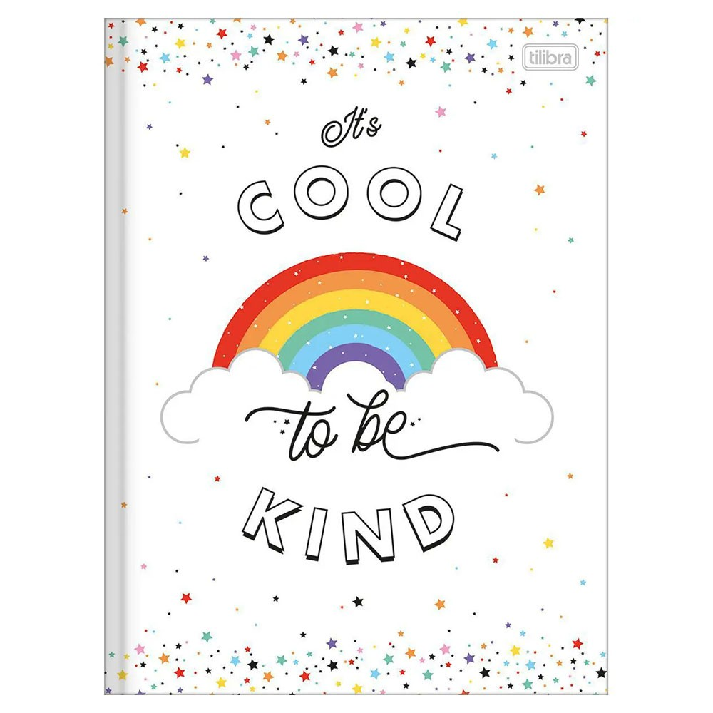 Caderno Brochurão CD 80 Folhas Rainbow 4 Tilibra  - INK House