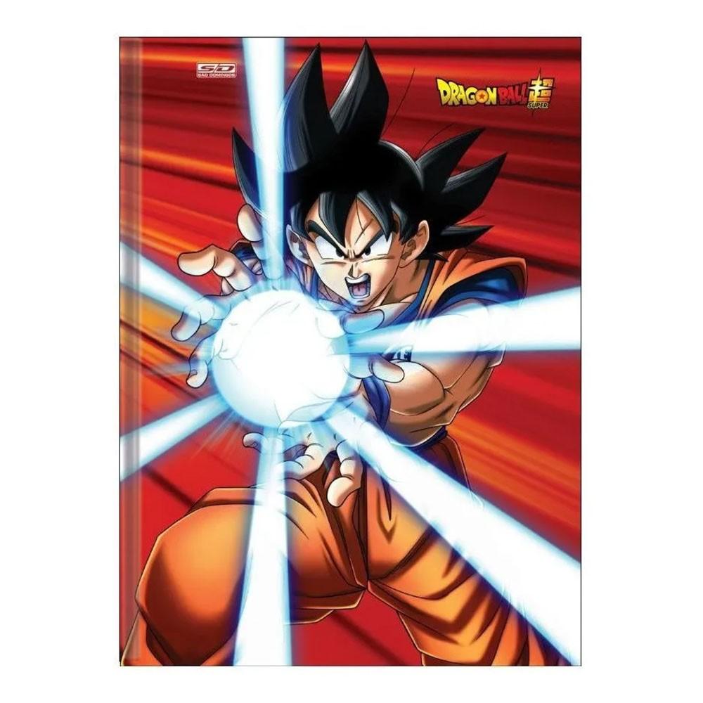 Caderno Brochurão CD 96 Folhas Dragon Ball 1 São Domingos  - INK House