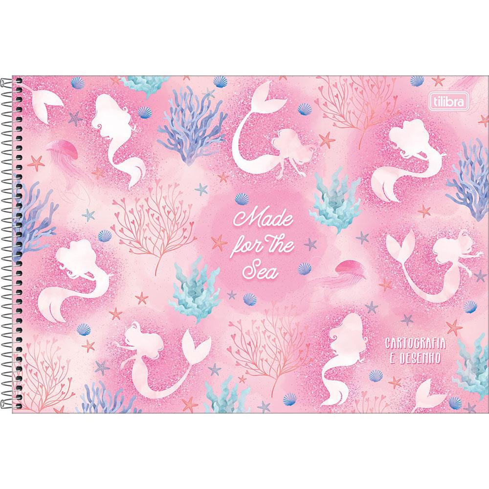 Caderno Cartografia e Desenho CD 80 Folhas Wonder 2 Tilibra