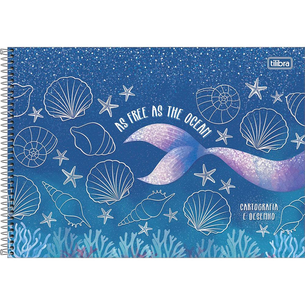 Caderno Cartografia e Desenho CD 80 Folhas Wonder 1 Tilibra
