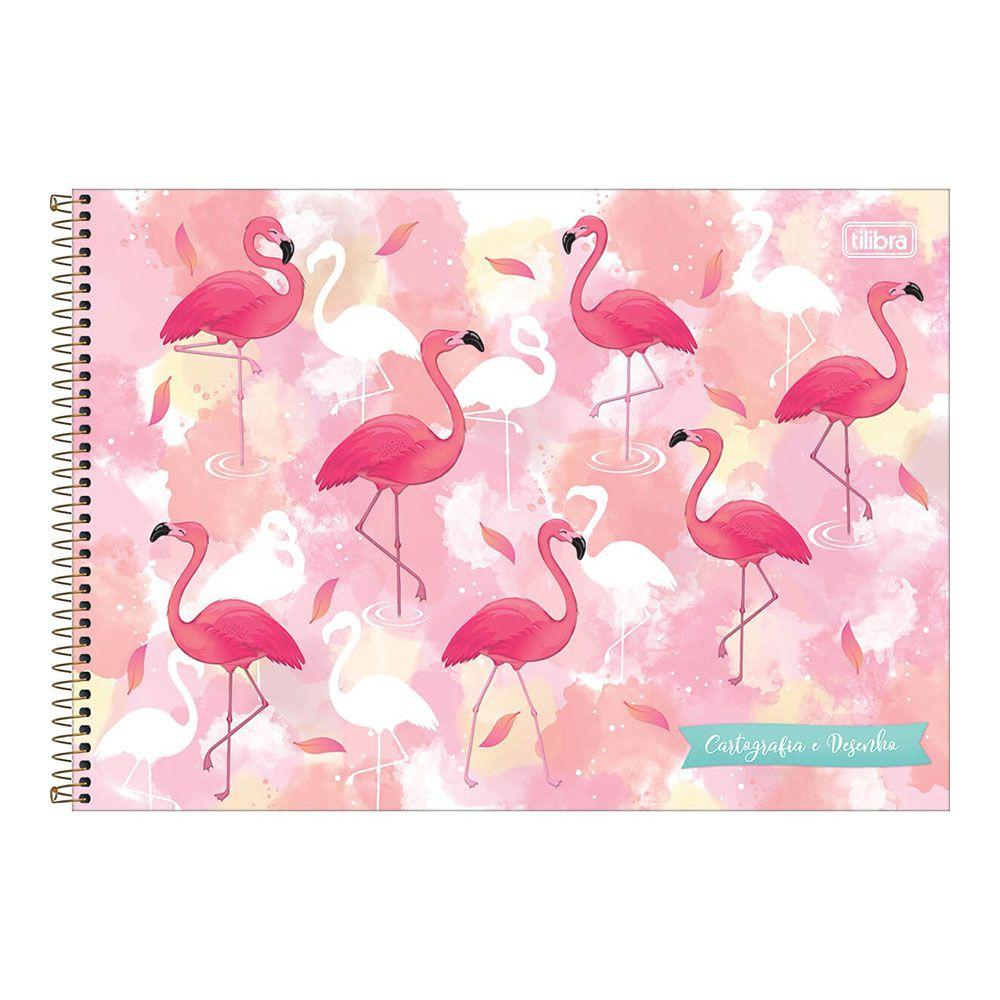 Caderno de Cartografia e Desenho CD 80 Folhas Aloha Tilibra 2  - INK House
