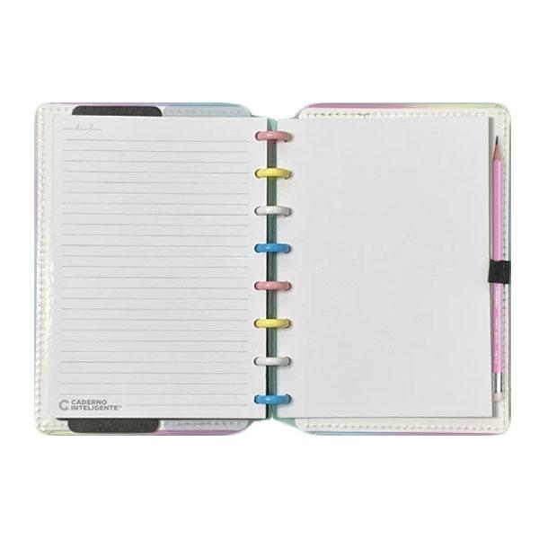 Caderno Inteligente Candy Splash A5 80 Folhas