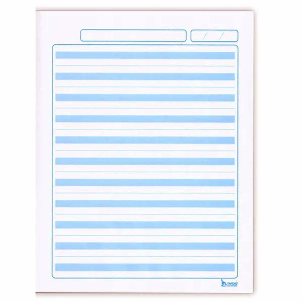 Caderno Pedagógico Pauta Azul CD 40 Folhas Tamoio 2  - INK House